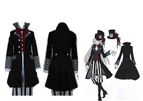 Mister Bear Black Butler Kuroshitsuji Undertaker Cosplay Costume]()