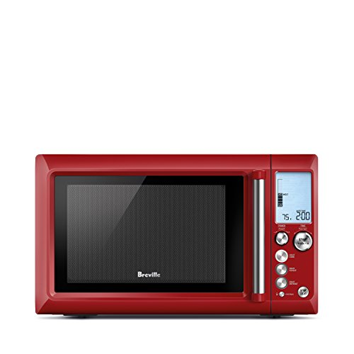 Breville L.P. BMO734CRN Quick Touch Microwave, Cranberry