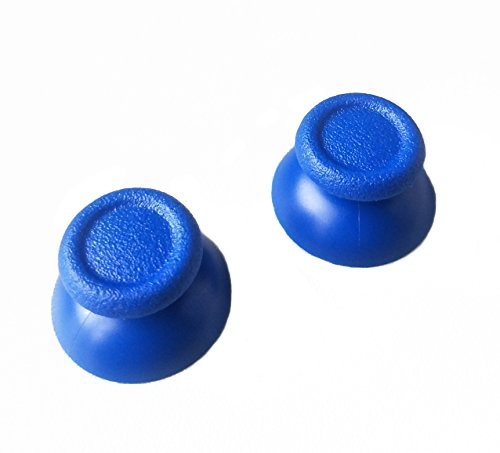 Hisonders 2x Blue Thumbsticks Grips for PlayStation 4 - Professional Gaming Controller