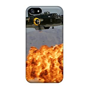 First-class Cases Covers For Iphone 5/5s Dual Protection Covers B-25 Mitchell
