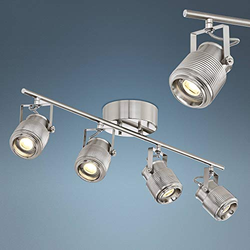 Pro Track Ripple 4-Light Satin Nickel LED Track Light - Pro Track