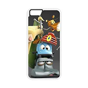 Brave Little Toaster iPhone 6 Plus 5.5 Inch Cell Phone Case White 218y-673603