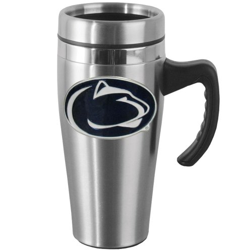 Penn Coffee State (NCAA Penn State Nittany Lions Steel Travel Mug with Handle)