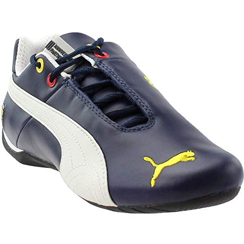 (PUMA Mens Scuderia Ferrari Future Cat Leather Athletic & Sneakers Blue)