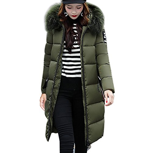 Garter Coat Set (Women Down Jacket, Realdo Winter Thicker Lammy Long Jacket Coat Overcoat)