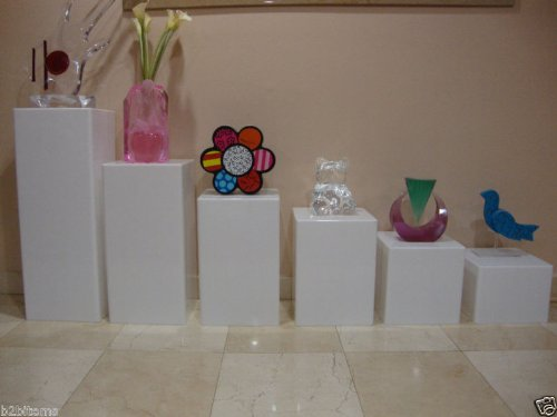 art pedestal white - 8