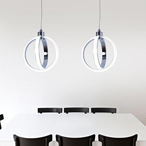 Led Mini Pendant Light Kitchen Pendant Lights With Chrome Finish Modern Pendant Lighting 1 Light