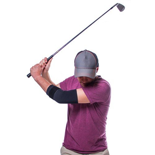 BraceAbility Golfers Elbow Treatment Brace for Medial Epicondylitis-2XL