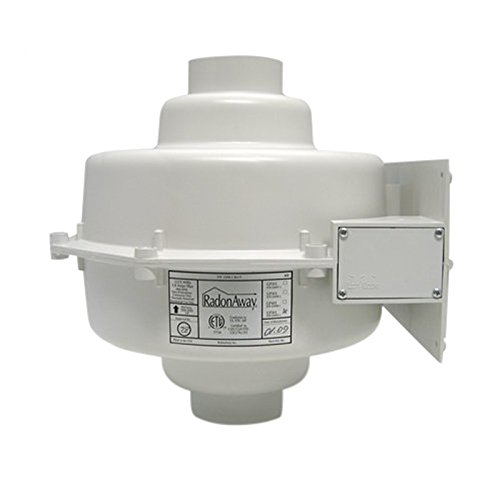 RadonAway 23006-1 GP301 Radon Mitigation Fan, 3'