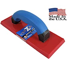 """Troxell USA 4"""" x 9"""" Solid Urethane Grout Float with SoftGrip Handle"""