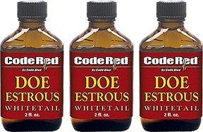 Code Blue CR Doe Estrous 3 pack