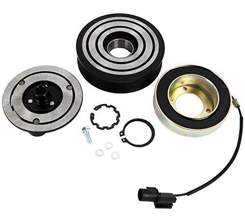 KARPAL AC A/C Compressor Clutch Assembly Repair Kit 92600JA00A Compatible With Nissan Altima Sentra DCS171C