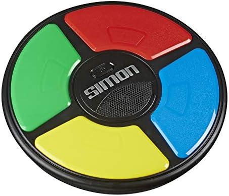 Hasbro Simon Spiel, elektronisches Merkspiel für Kinder ab 8 Jahren; Spiel mit Lichtern und Geräuschen, klassisches Simon Spielprinzip