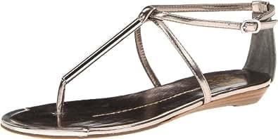 DV by Dolce Vita Women's Archer Sandal,Dark Silver Flash,9.5 M US