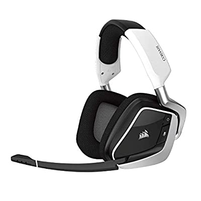 CORSAIR VOID PRO RGB Wireless Gaming Headset - Dolby 7.1 Surround Sound Headphones for PC - Discord Certified - 50mm Drivers