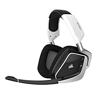 CORSAIR Void PRO RGB Wireless Gaming Headset - Dolby 7.1 Surround Sound Headphones for PC - Discord Certified - 50mm Drivers - White (B0748MTZ1C) | Amazon price tracker / tracking, Amazon price history charts, Amazon price watches, Amazon price drop alerts