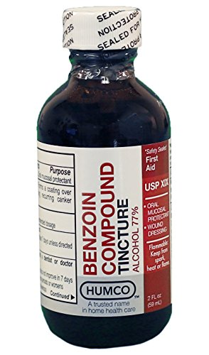 Benzoin Compound Tincture, USP, 2 oz. by Humco