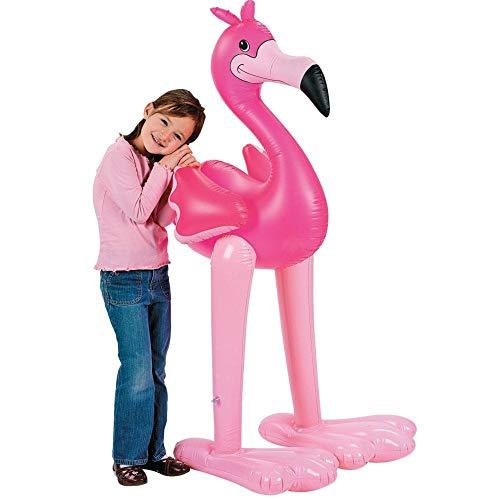 - Jumbo Inflatable Pink Flamingo