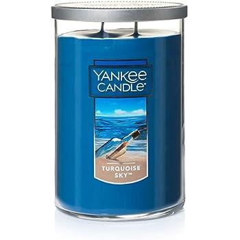 Yankee Candle Large 2-Wick Tumbler Candle, Turqoise Sky
