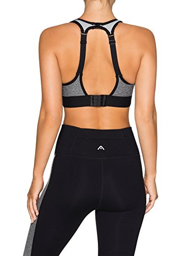 df9b2df864791 Rockwear Activewear Women s Hi Olympic Clip Back Bra From size 4-18 High  Impact Bras For  Amazon.com.au  Fashion