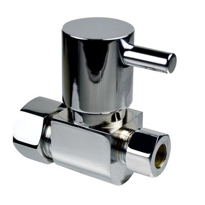 Mountain Plumbing MT5120L Lever Handle Angle and Straight Valves Finish: Polished Chrome ()