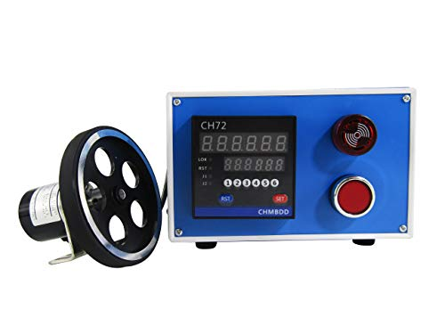 Length Meter Counter JIAWANSHUN Wheel Roller Digital Length Meter with Meter and Yard Switchable for Textile Industry Cable Industry Paper Industry