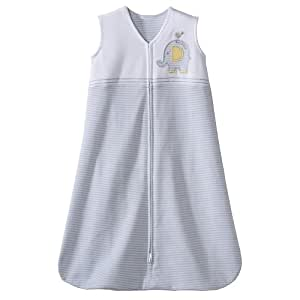Halo SleepSack Wearable Blanket - Elephant Stripes-Medium
