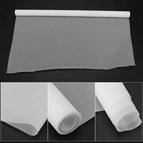 Blanc 1000mm /× 300mm /× 0,1mm Feuille de T/éflon de PTFE Rouleau de Film pour Transferts de Presse /à Chaud
