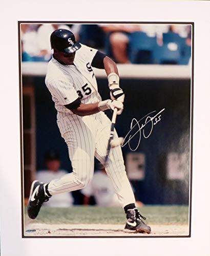 Frank Thomas Autographed Matted 16x20 Photo Chicago White Sox UDA #UDM19046