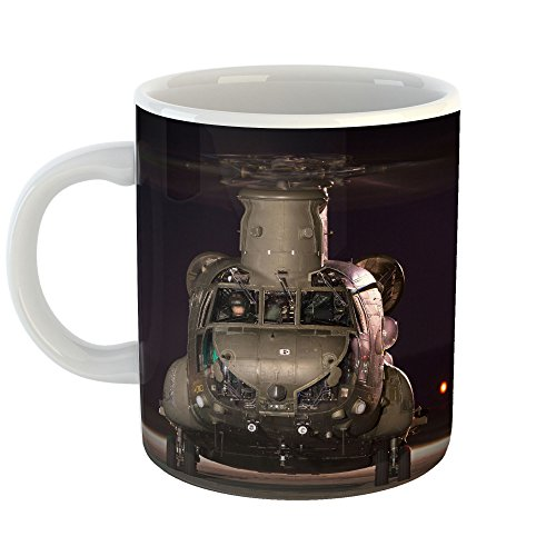 Westlake Art - Chinook Boeing - 11oz Coffee Cup Mug - Modern Picture Photography Artwork Home Office Birthday Gift - 11 Ounce ()