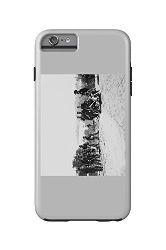 drewrys-bluff-va-gen-henry-abbot-and-staff-civil-war-photograph-iphone-6-plus-cell-phone-case-cell-p
