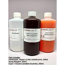 Hematoxylin and Eosin Stain Pack, 500ml