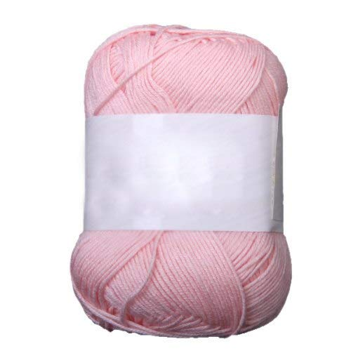 Soft Yarn - 50g Tencel Bamboo Cotton Yarn Light Pink - Yarn Baby Soft Purple Blanket Pink Dark White Bright Black Blue Grey Cotton Varigated Knit Yarn Melange Yarns Love This Wool Gold Color Cro