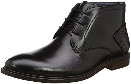 Steve Madden Footwear Herren Bowen Lace up Derbys Schwarz (Black)