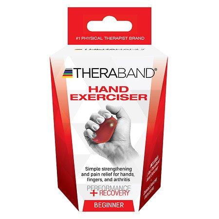 TheraBand Hand Exerciser, Stress Ball For Hand, Wrist, Finge