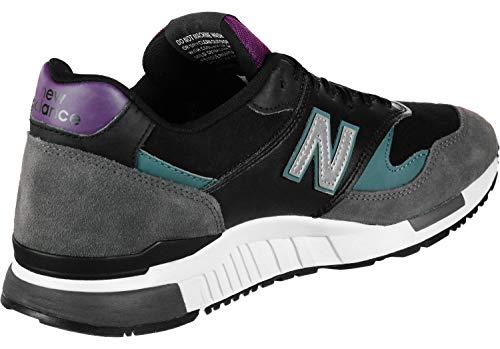 Viola New 90's Uomo Trainers Balance 840 Grigio Mix Nero 44ZqaAwp
