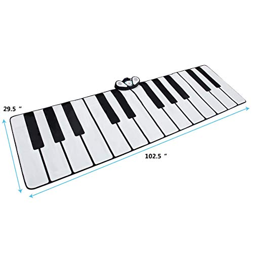 FDInspiration 24-Key Kids Keyboard Dance Gigantic Piano Playmat w/ Cable with Ebook by FDInspiration (Image #3)
