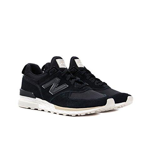 New Balance Herren 574s Sneaker Black