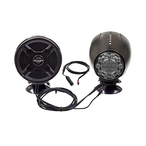 Bazooka Bluetooth Amplified Speaker System w/ Integrated LED Lights