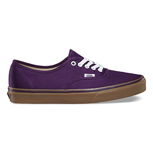 Vans Mens Authentic Purple Textile Trainers 7 US