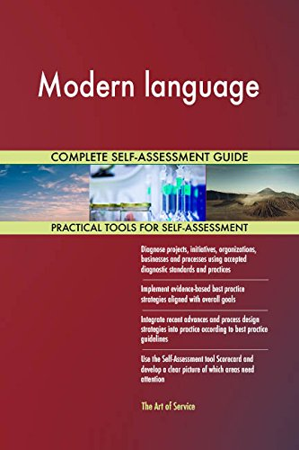 Modern language Toolkit: best-practice templates, step-by-step work plans and maturity diagnostics