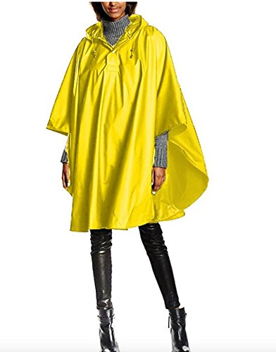Charles River Apparel Unisex- Adult Pacific Poncho One Size Yellow