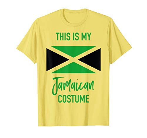 This is my Jamaican Costume T-Shirt - Funny Halloween Tee ()