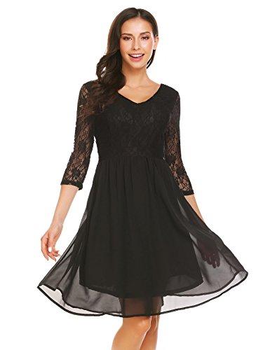 Empire Waist Flirty Party Dress - 2