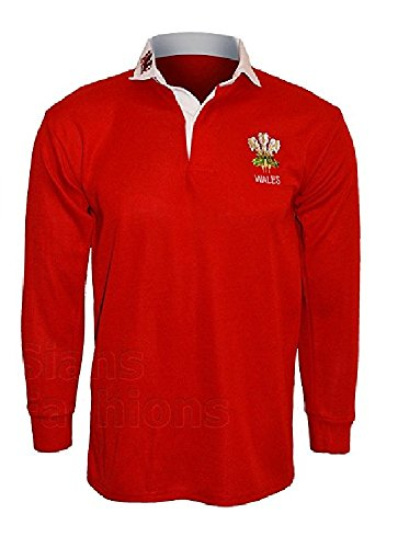 T Uni Homme Manches Rouge À shirt Longues Active Wear rosso OAa51wqOg