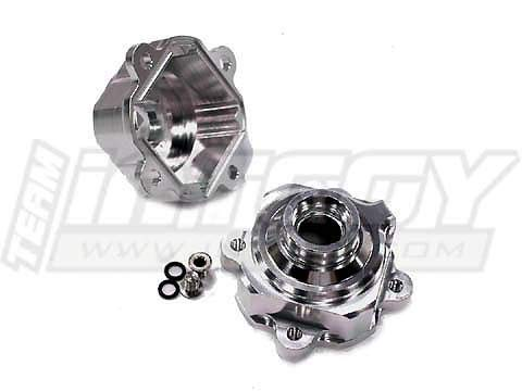 Integy RC Model Hop-ups T6856SILVER Alloy Internal Diff Case for HPI Baja 5B (Version 1.0 Only) ()