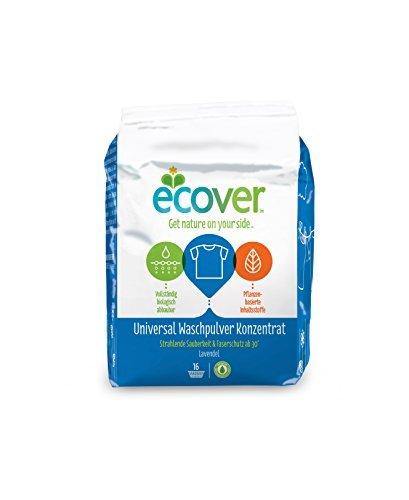 Ecover Universal Waschpulver Konzentrat Lavendel, 4er Pack (4 x 16 Waschladungen) by Ecover