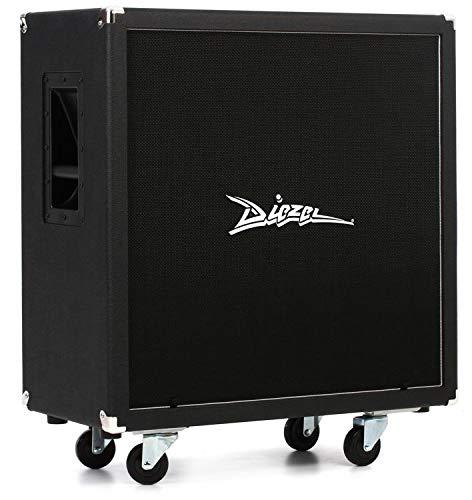 Diezel 412-FV 240W 4x12 Front-Loaded Guitar Amplifier Cabinet Black ()