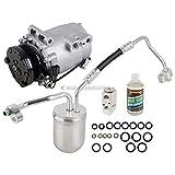 Saturn Vue A/C Compressors & Components - For Saturn Vue 2002 2003 AC Compressor w/A/C Repair Kit - BuyAutoParts 60-80358RK New