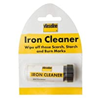 Iron cleaner by Vilene, wipe off scorch, starch & burn marks from Caraselle